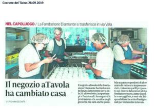 Corriere del Ticino aTavola